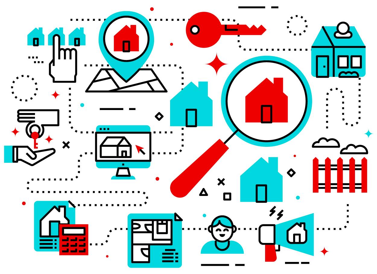 Traverse Real Estate Graphic